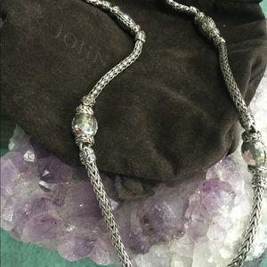 John Hardy Sterling Silver Palu necklace
